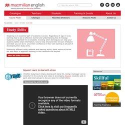 Study Skills - Life Skills Resources