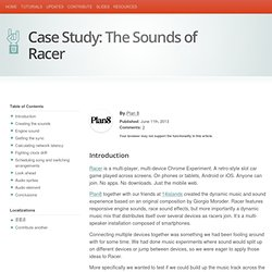 The Sounds of Racer