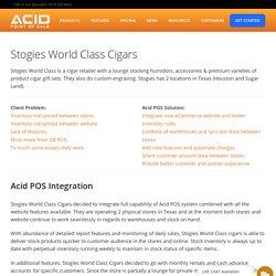 POS System Cash Register - ACID Point of Sale