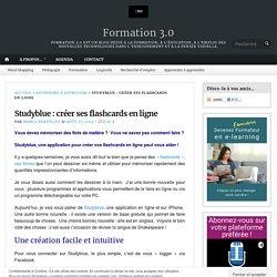 Studyblue : créer ses flashcards en ligne – Formation 3.0