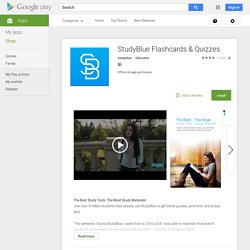 STUDYBLUE Flashcards - Apps on Android Market