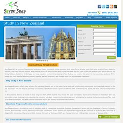 Study in New Zealand – Seven Seas