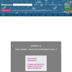 Salon Virtuel Studyrama des Etudes Supérieures de Marseille - Jeudi 18 Février 2021 - AIX-MARSEILLE