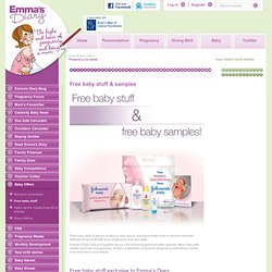 Get your free baby product sample