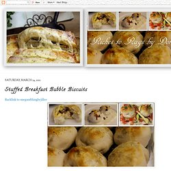 Stuffed Breakfast Bubble Biscuits