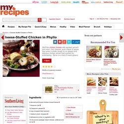 Cheese-Stuffed Chicken in Phyllo Recipe