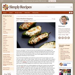 Baked Stuffed Jalapeños Recipe
