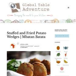 Pommes de terre farcies et frites (Libye)