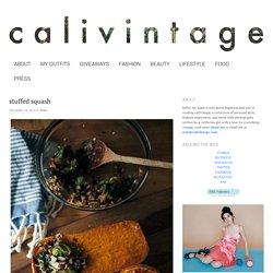 stuffed squash - calivintage