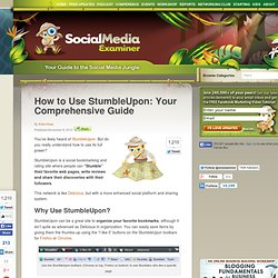 How to Use StumbleUpon: Your Comprehensive Guide