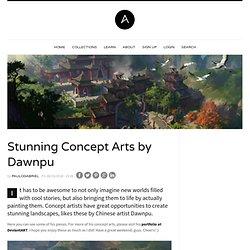 Stunning Concept Arts by Dawnpu