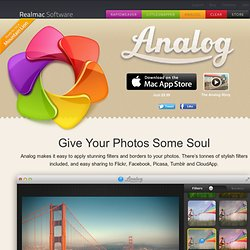 Analog for Mac - Give your photos some soul
