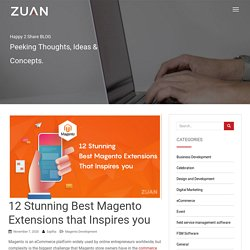 12 Stunning Best Magento Extensions that Inspires you
