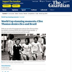 World Cup stunning moments: Clive Thomas denies Zico and Brazil