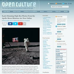 8,400 Stunning High-Res Photos From the Apollo Moon Missions Are Now Online