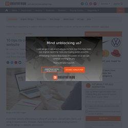 10 tips to create a stunning portfolio website