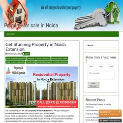Residential Flats in Noida Extension – Property for sale in Noida