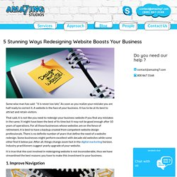 5 Stunning Ways Redesigning Website Boosts Your Business