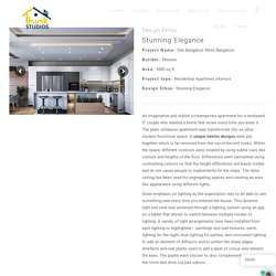 Stunning Elegance In Residential Apartment - Think Studios