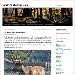 Elk Stuns Idaho zookeepers…