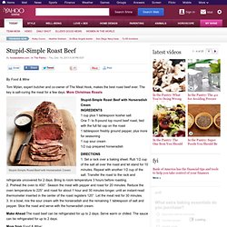 Stupid-Simple Roast Beef | In The Pantry