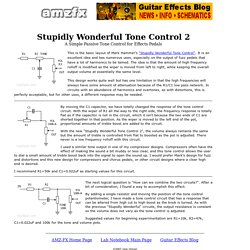 AMZ Stupidly Wonderful Tone Control 2