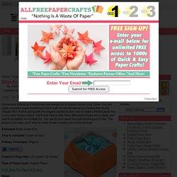 Sturdy Origami Box