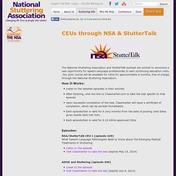 National Stuttering Association