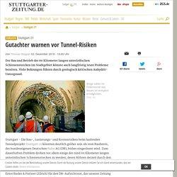 Stuttgart 21: Gutachter warnen vor Tunnel-Risiken - Stuttgart 21