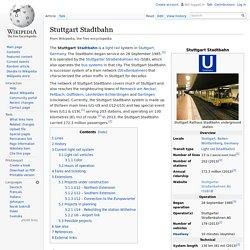 Stuttgart Stadtbahn