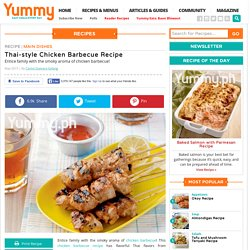 Thai-style Chicken Barbecue Recipe