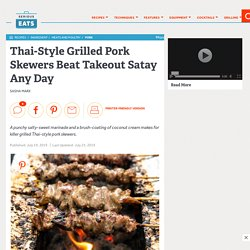 Thai-Style Grilled Pork Skewers Beat Takeout Satay Any Day