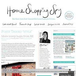style « HomeShoppingSpy