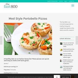Med Style Portobello Pizzas