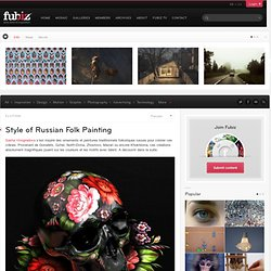 Style of Russian Folk Painting