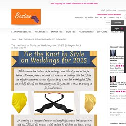 Blog - Tie the Knot in Style on Weddings for 2015 (Infographic)