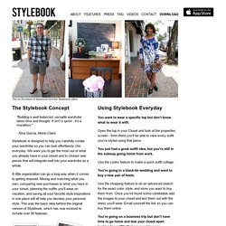 Stylebook Closet App: About Us