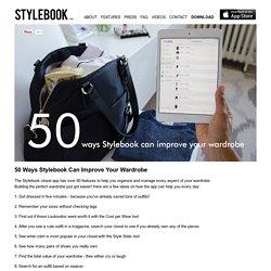 Stylebook Closet App: Everyday Uses