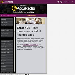 Jazz Styles on AccuRadio online radio