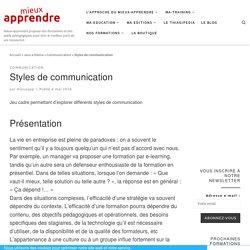 Styles de communication