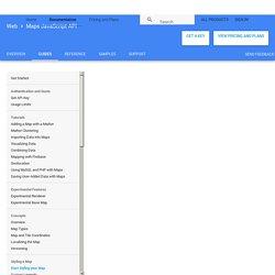 Стилизованные карты - JavaScript API Google Карт (версия 3)