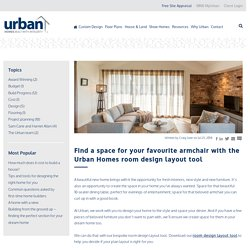 Styling your new home with the Urban Homes room design layout tool