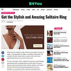 Get the Stylish and Amazing Solitaire Ring