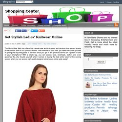 Get Stylish Ladies' Knitwear Online