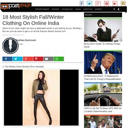 18 Most Stylish Fall/Winter Clothing On Online India