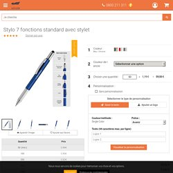 Stylo 7 fonctions