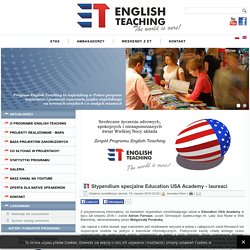 English Teaching - Stypendium specjalne Education USA Academy - laureaci