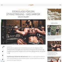 Stor guide för din styrketräning – vad, varför och hur? - Sporthälsa