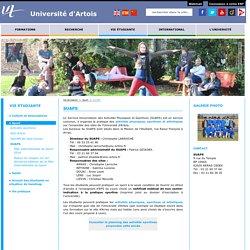 Le Service Universitaire des Activités Physiques et Sportives -SUAPS