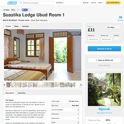 Suastika Lodge Ubud Room 1 in Ubud